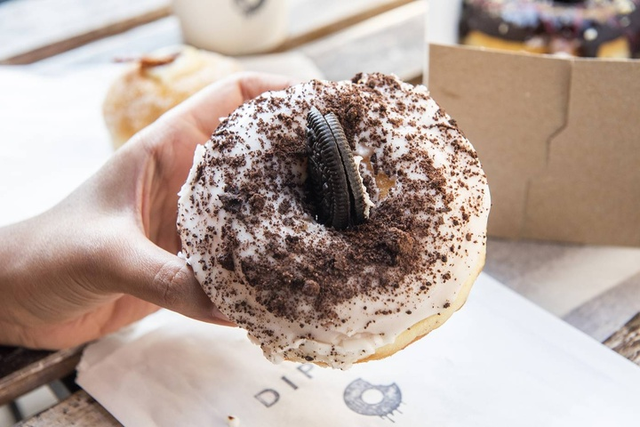 Dipped Donuts
