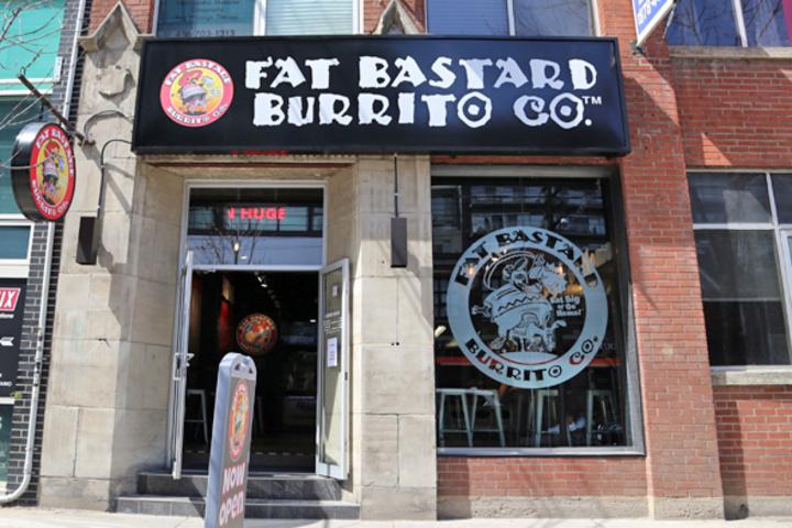 Fat Bastard Burrito (King West)
