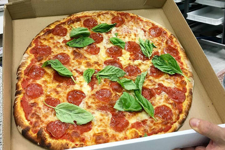 Napolitan Brick Oven Pizza