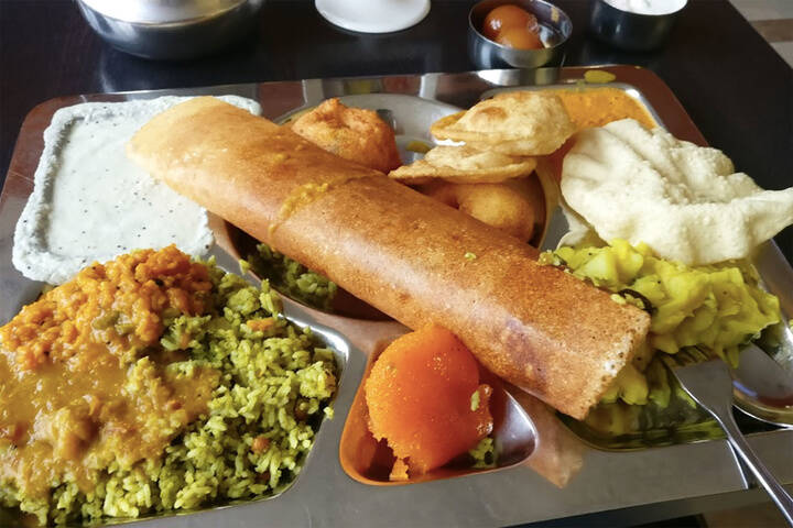 South Indian Restaurant Kennedy Road Brampton
