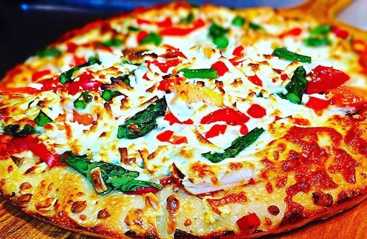 Nugget Halal Pizza