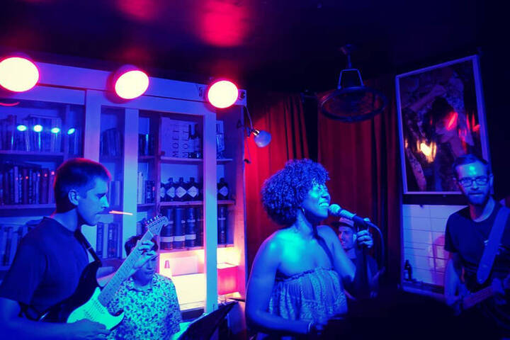 Poetry Jazz Cafe