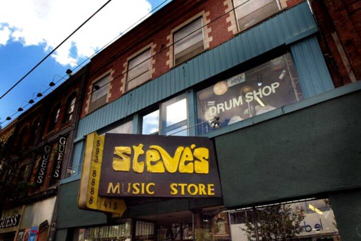 Steve's Music