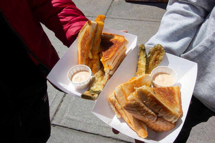 Stuff'D Grilled Cheese