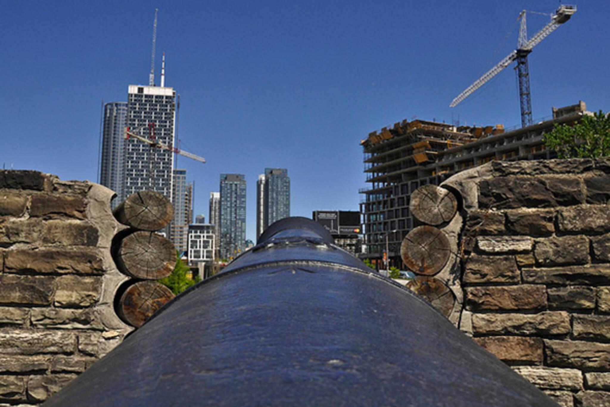 Toronto under siege