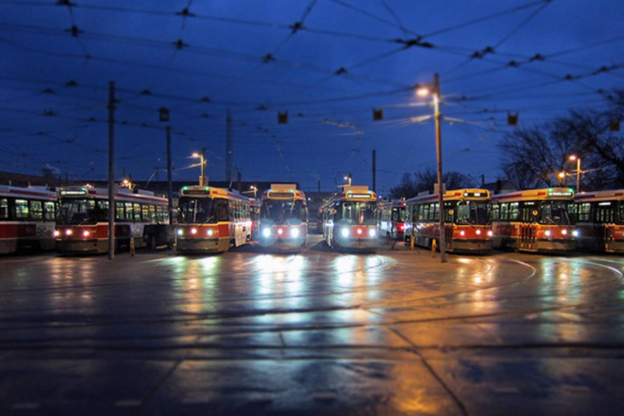 streetcar station
