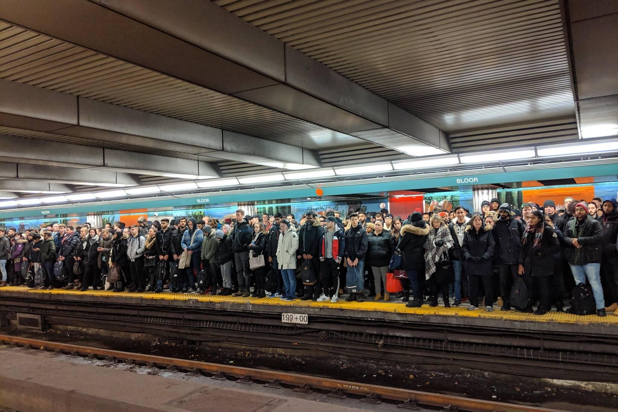 toronto bloor yonge station