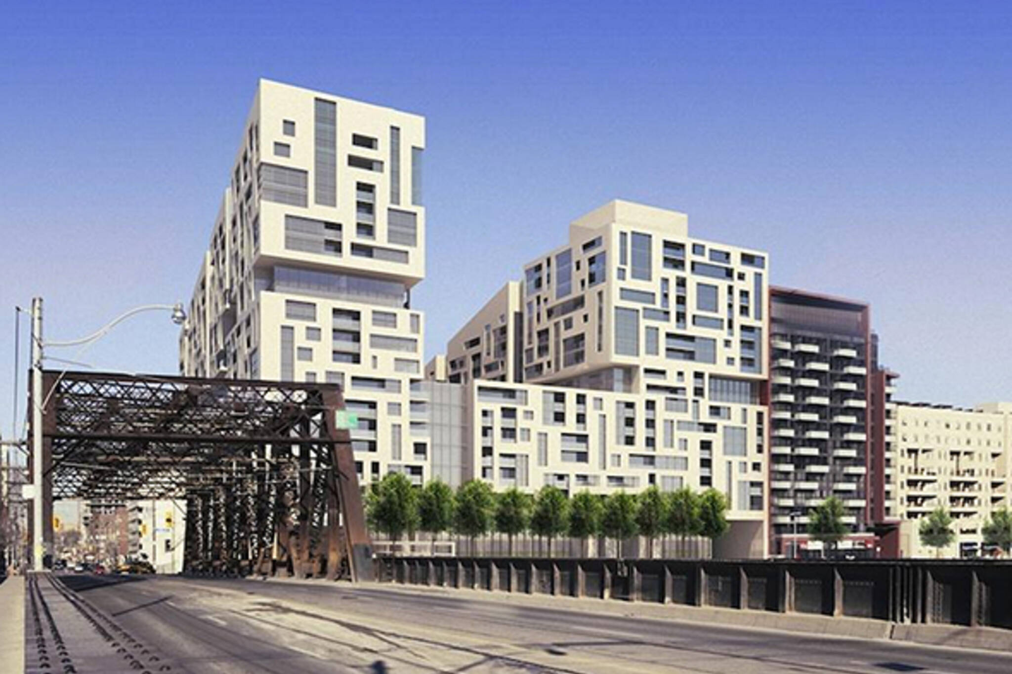 New in toronto real estate minto westside condos for Courtyard designs bathurst