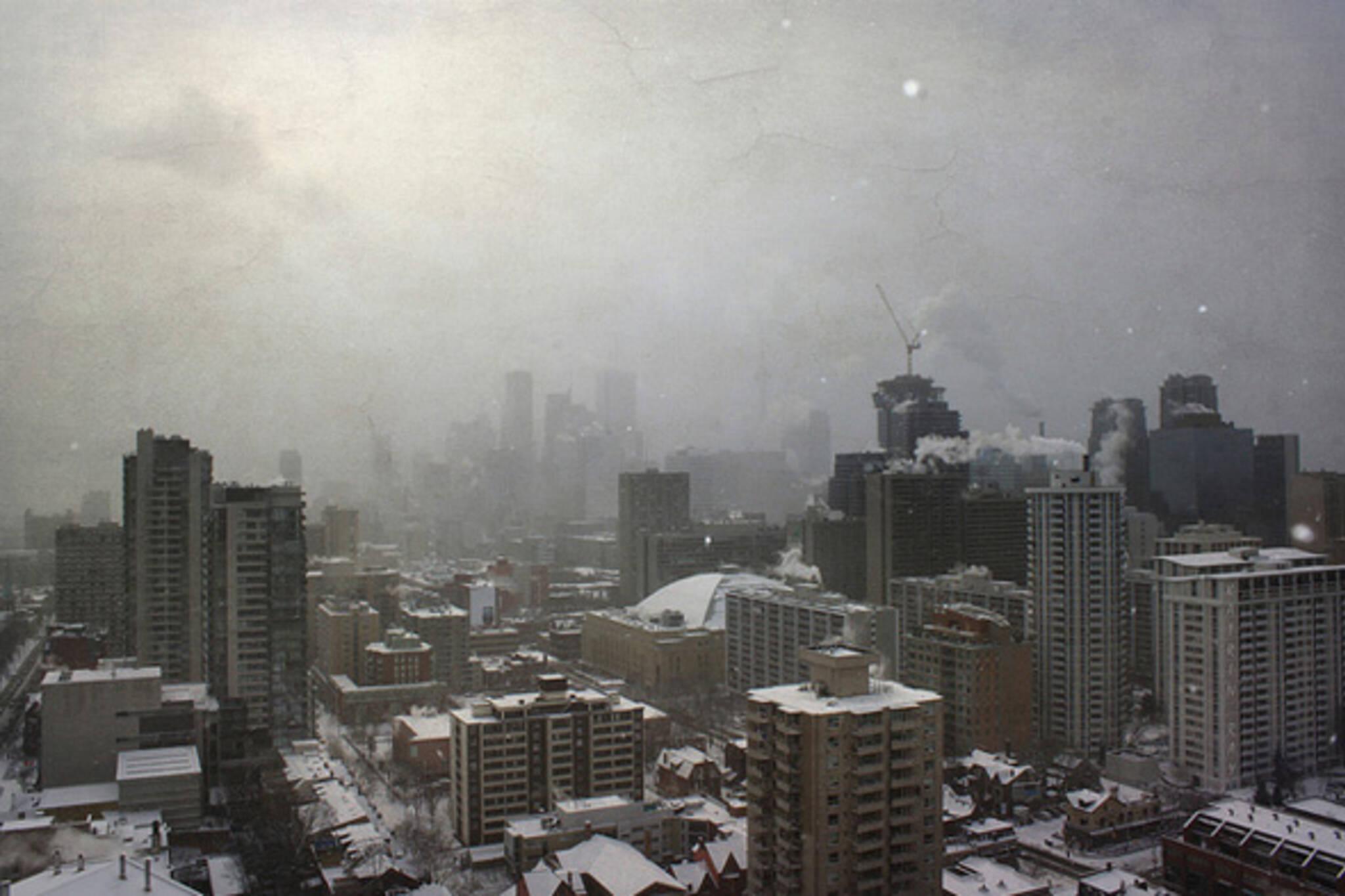 snowstorm Toronto