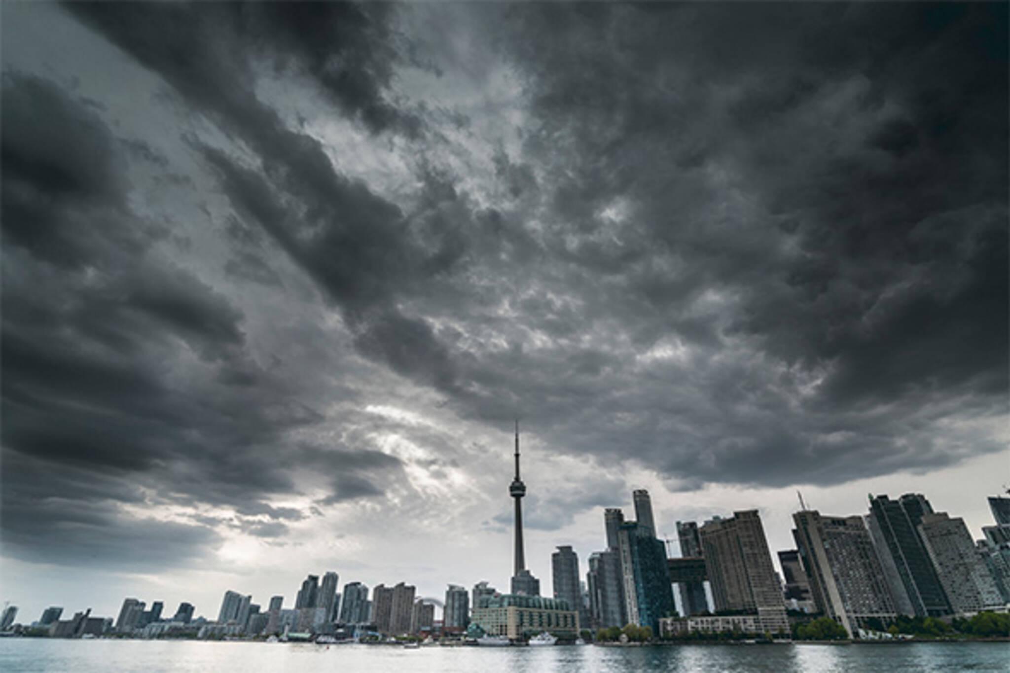 stormy toronto