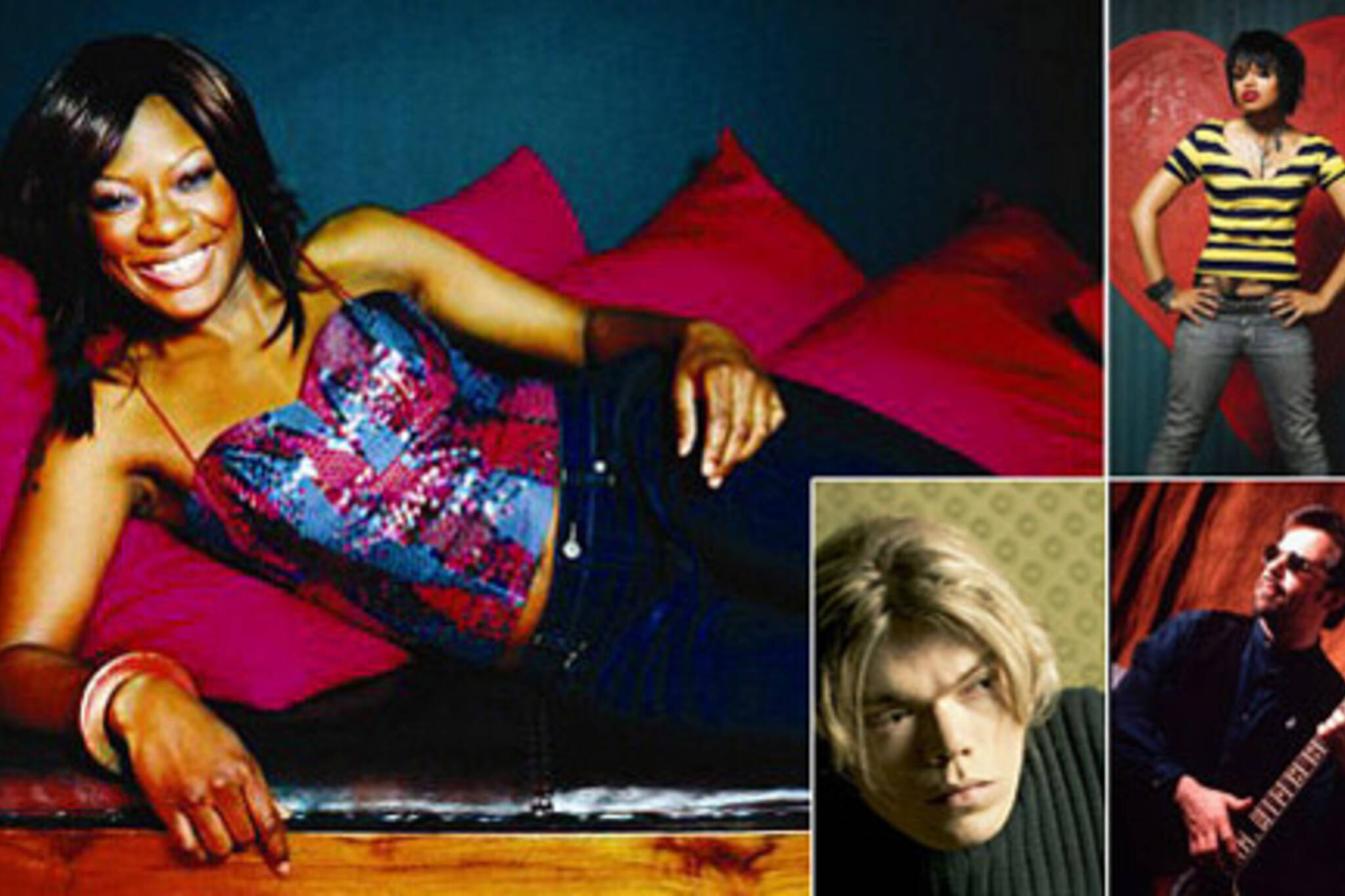 2007 Panty Schmooze Fundraiser - Jully Black, Fefe Dobson, Justine Hines, Terry Kelly