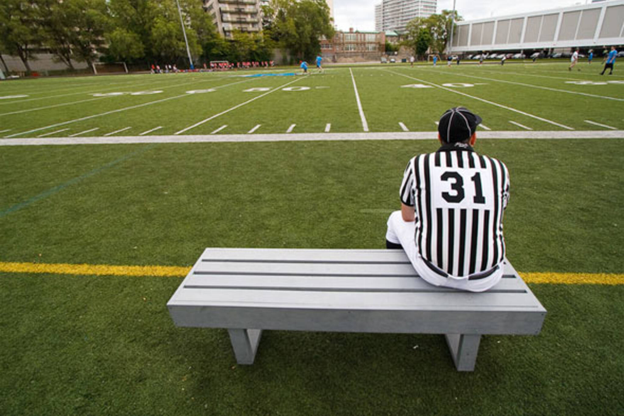 referee field