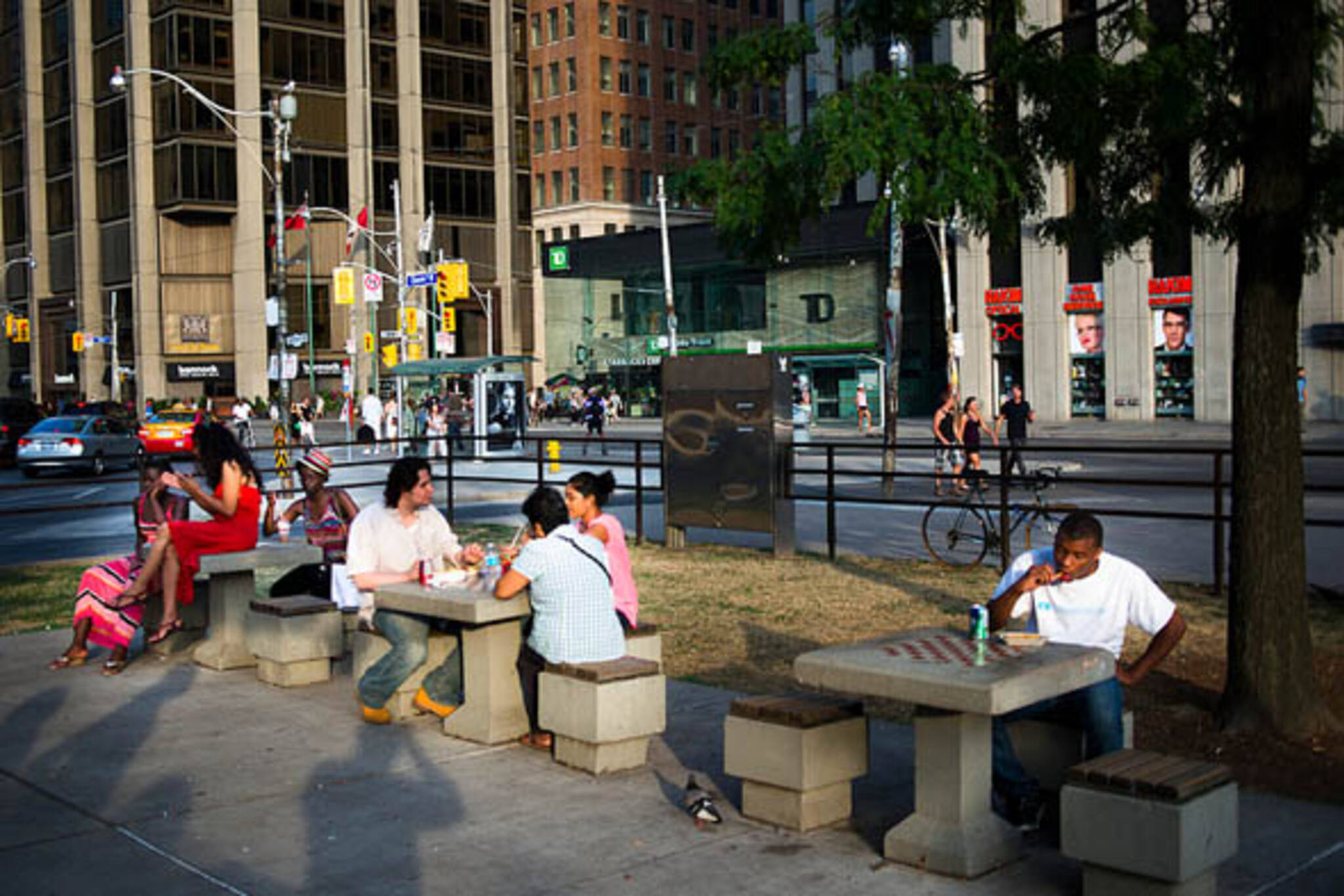 toronto nathan phillips square chess tables