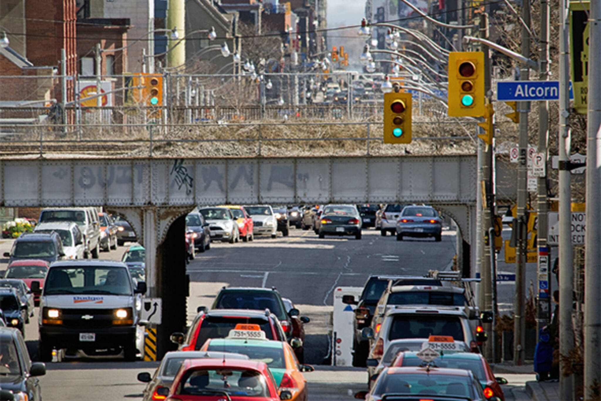 weekend traffic toronto