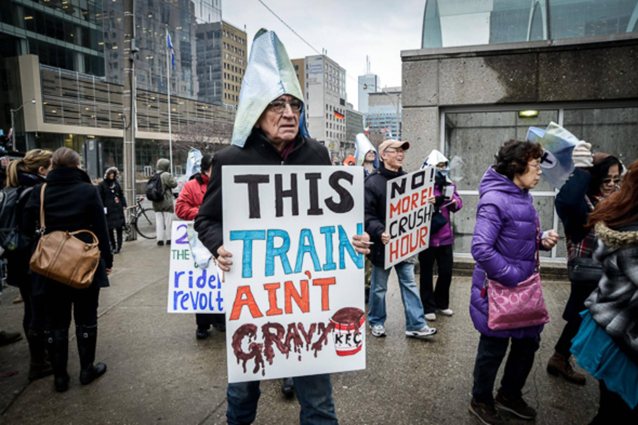 Transit funding toronto