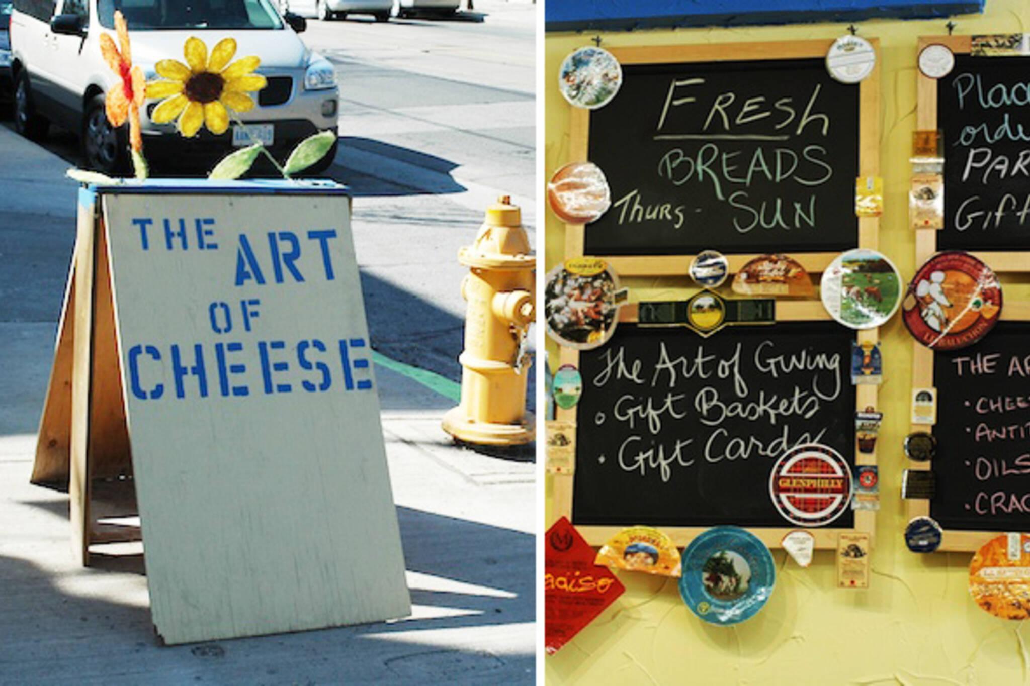 art of cheese toronto beaches