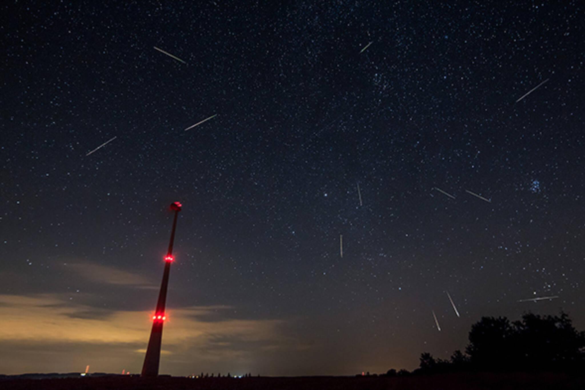 perseid meteor shower toronto