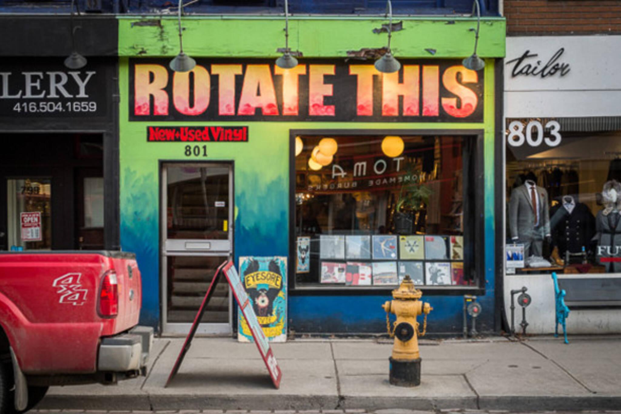 Toronto Rotate This moving