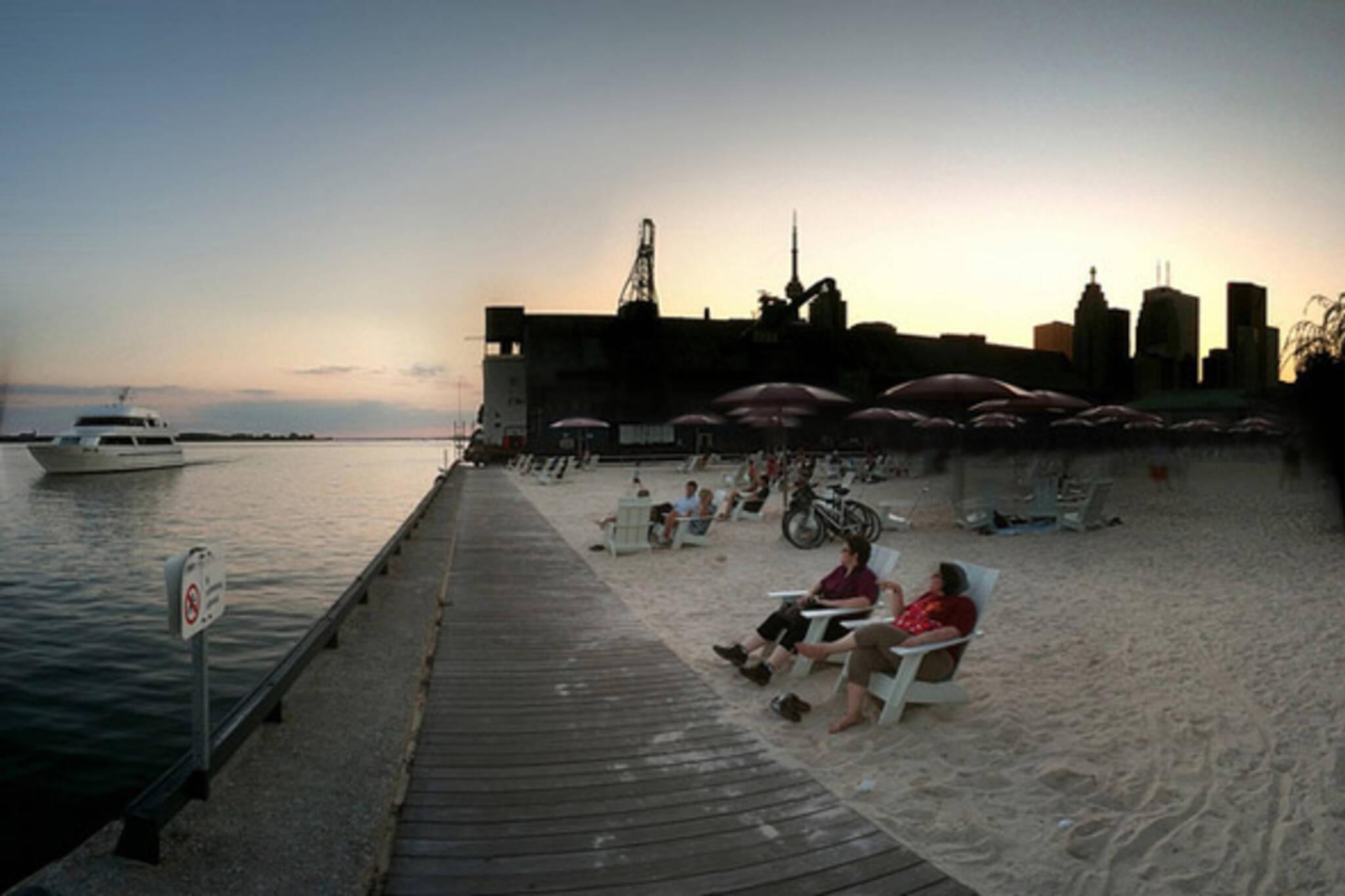 sugar, beach, sunset