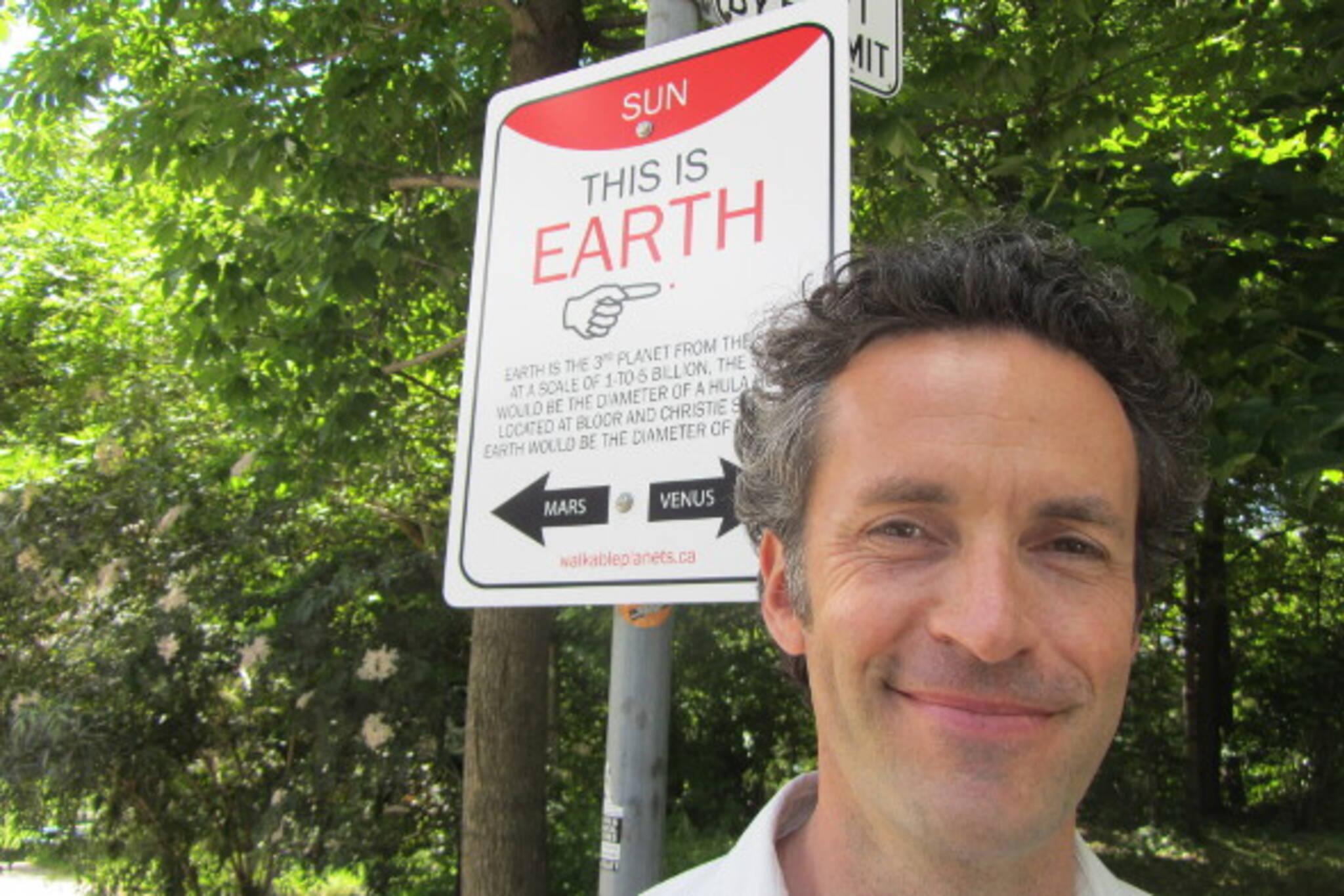walkable planets toronto