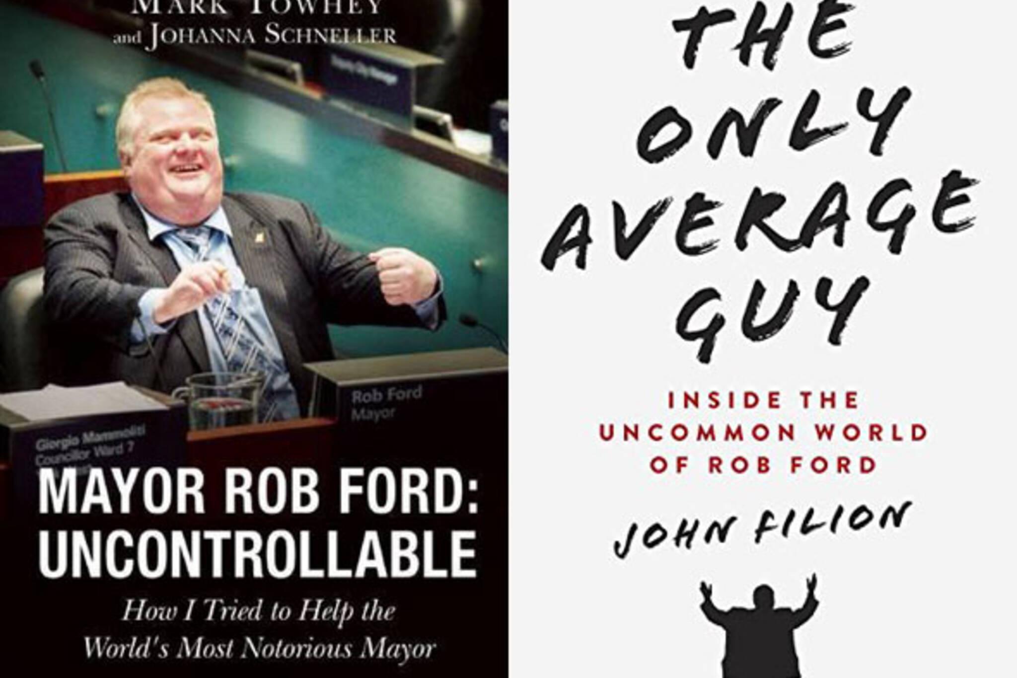 rob ford books