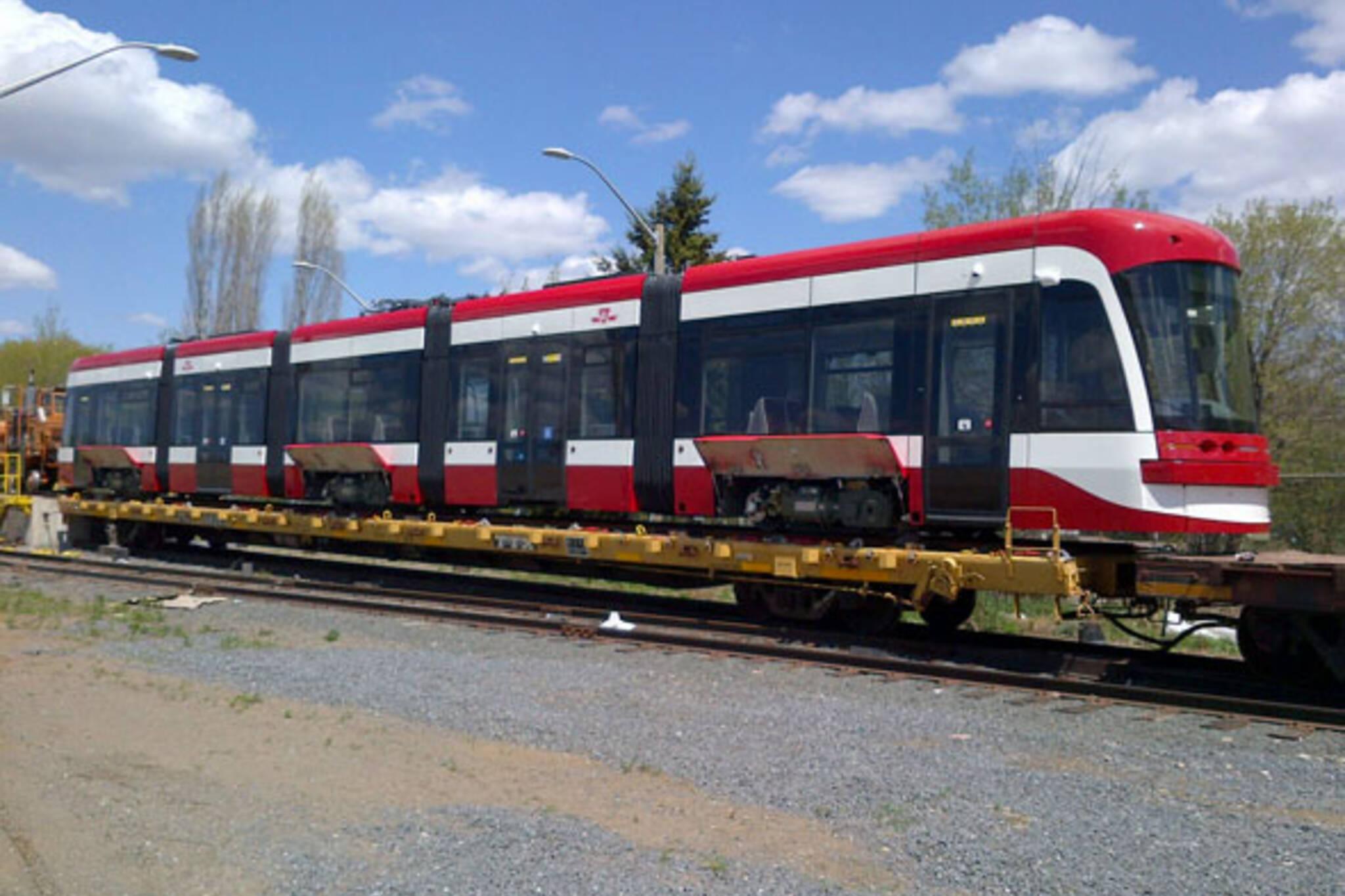 toronto new streetcar