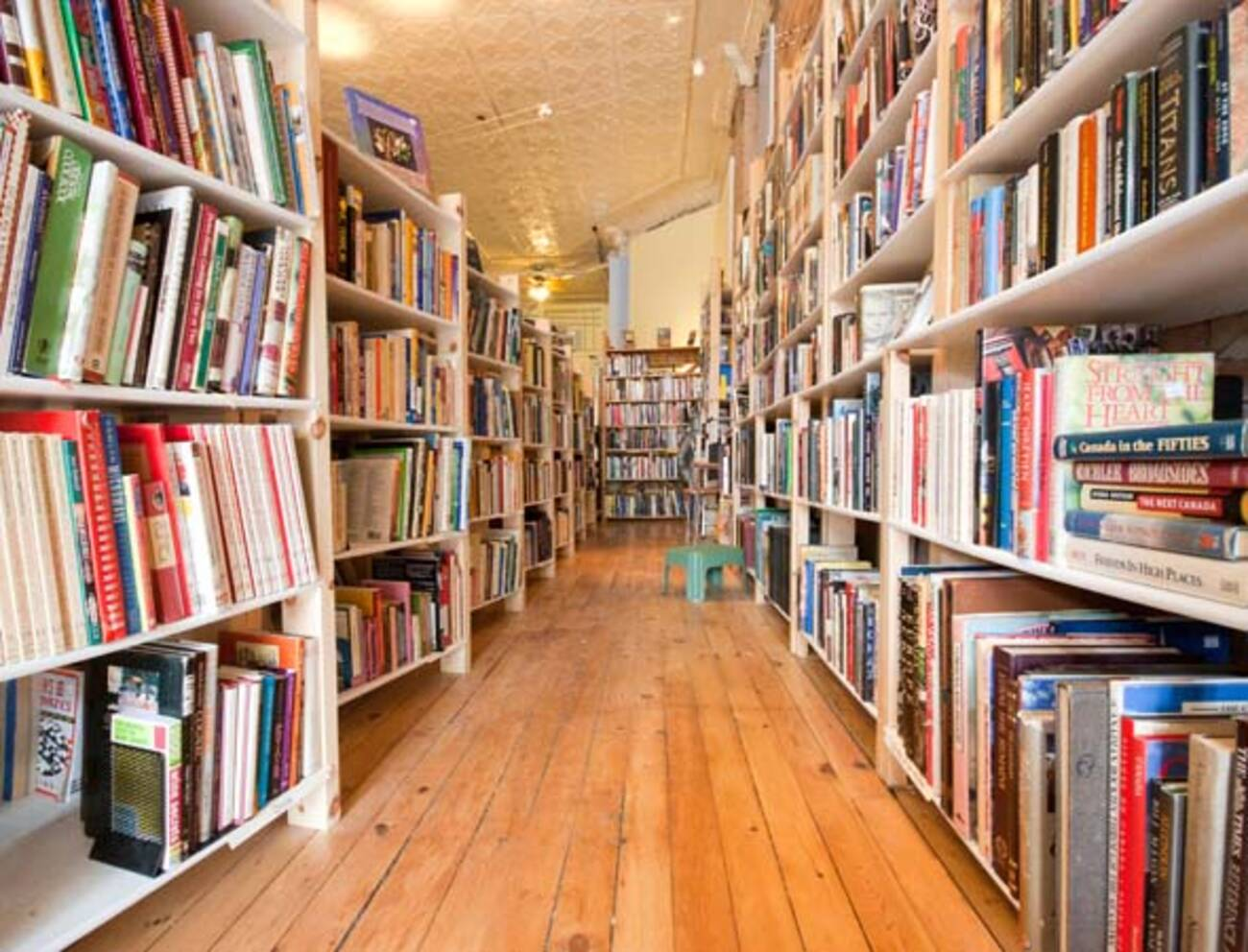The best used bookstores in toronto for Local wallpaper shops