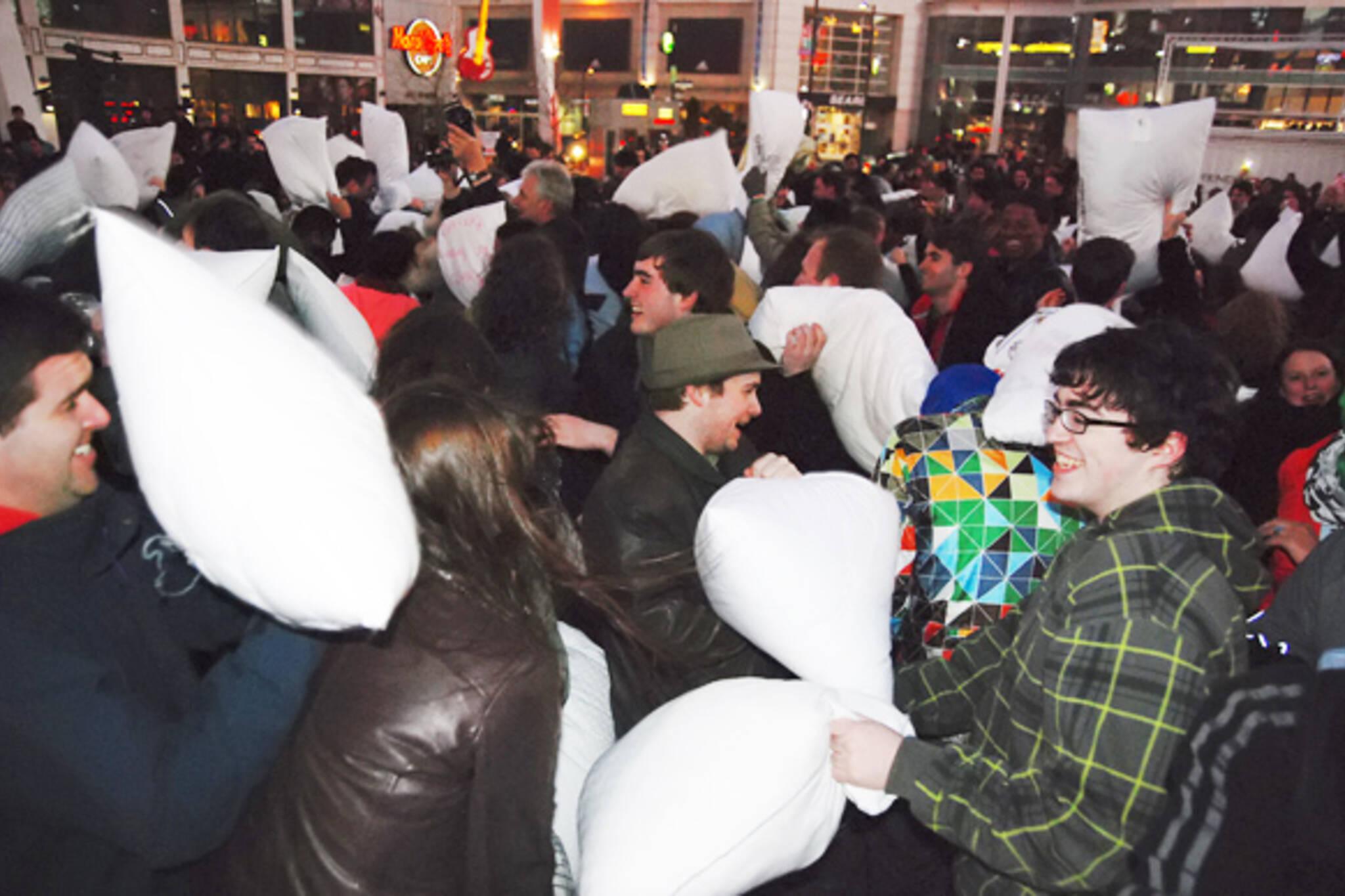 Toronto Pillow Fight 2011