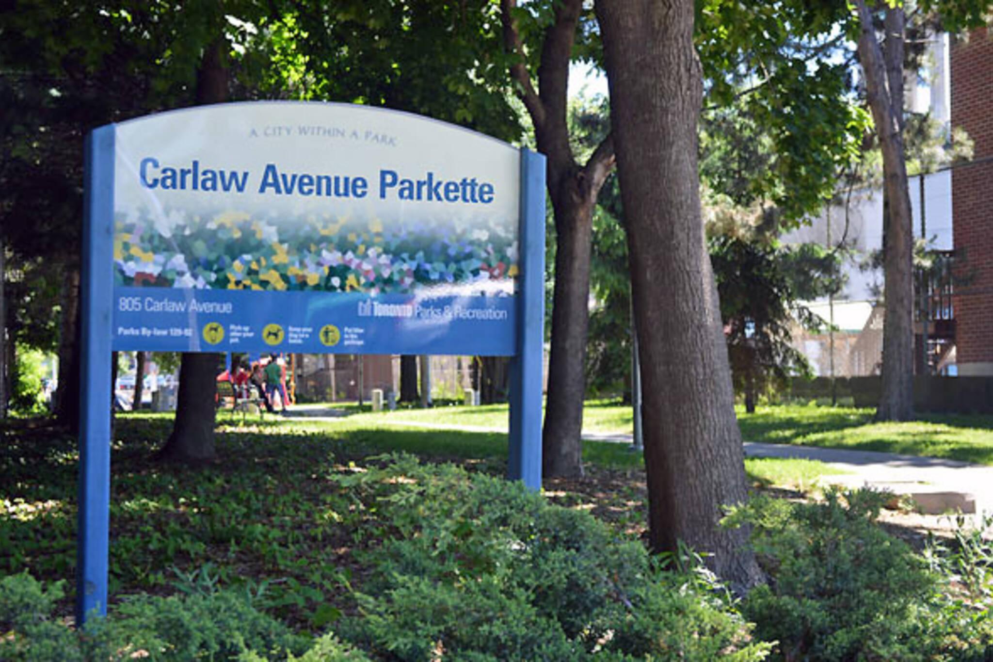 Danforth linear park
