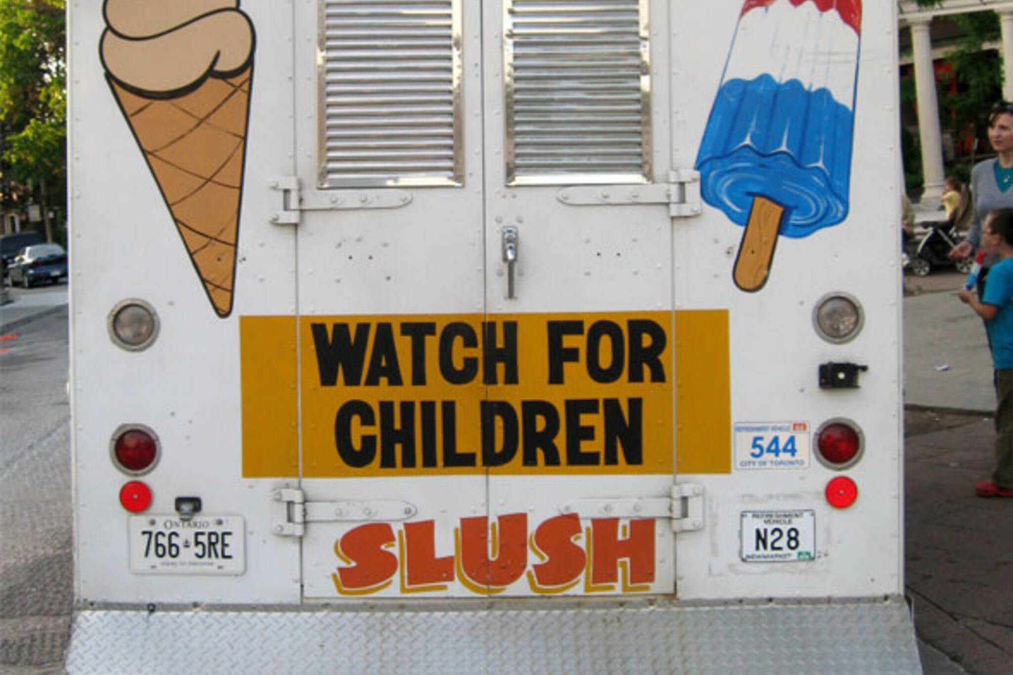 ice cream truck back