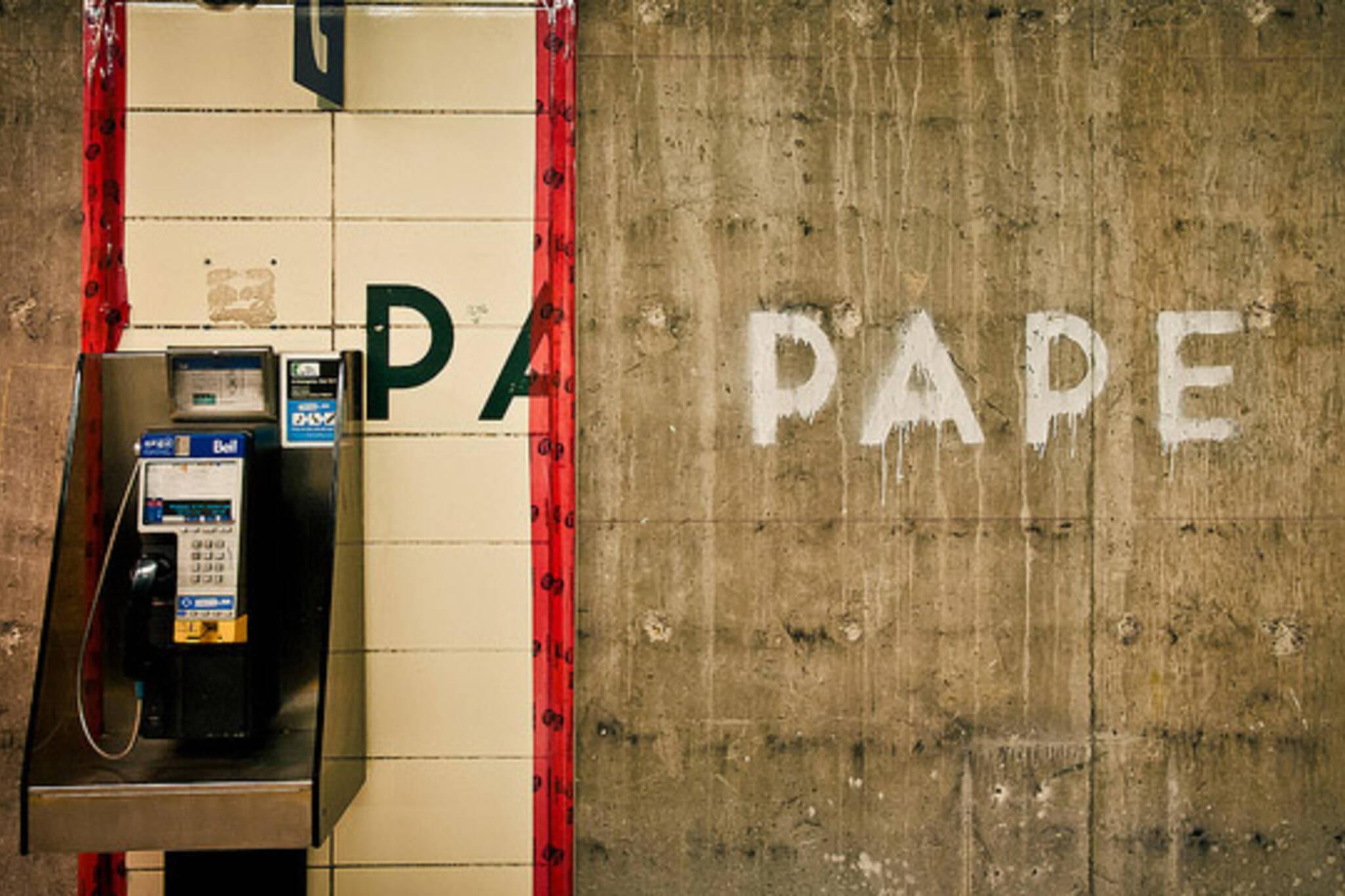 Pape station