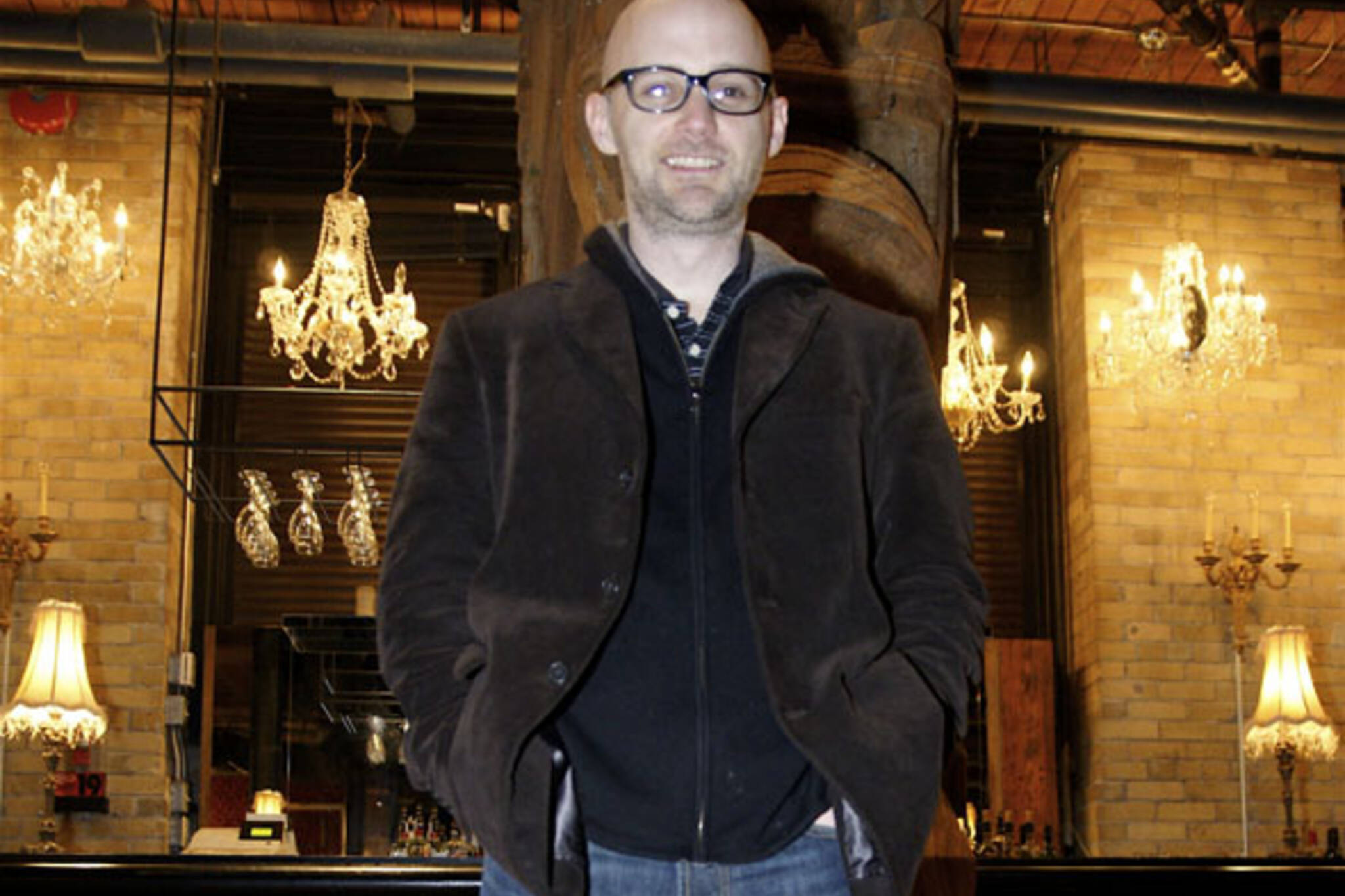 Moby at This Is London in Toronto