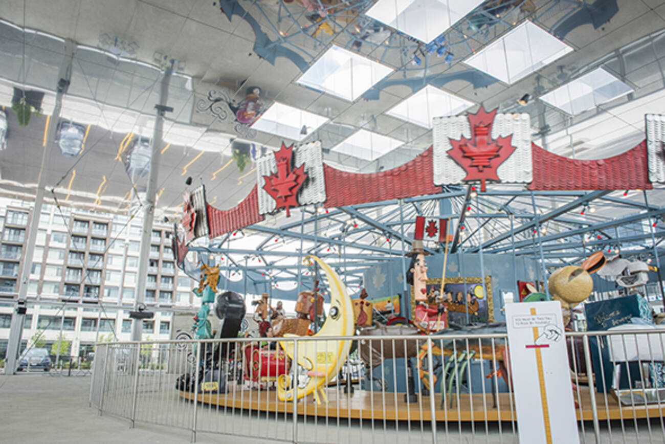 Toronto Gets An Elaborate New Merry Go Round