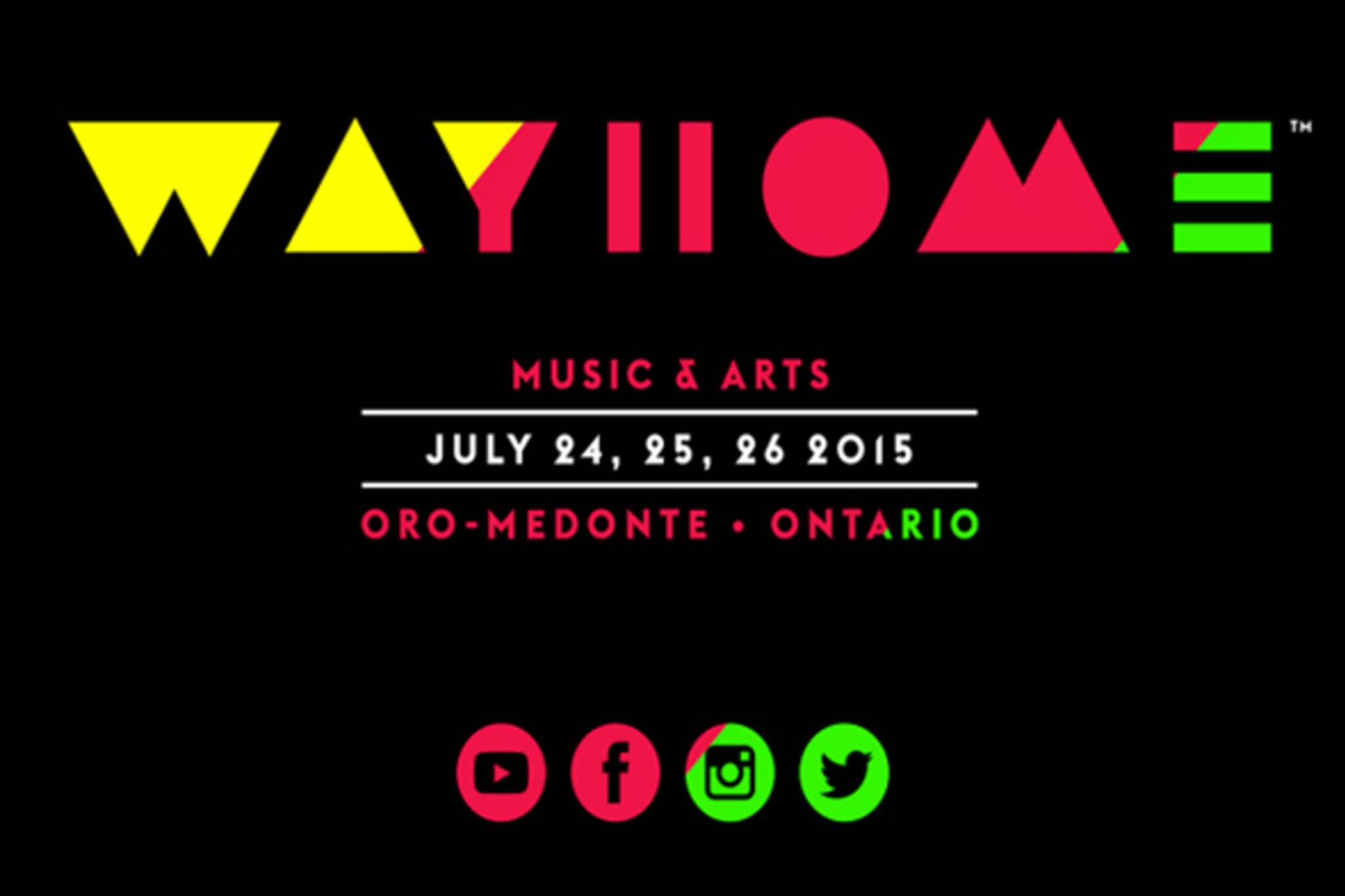 wayhome festival Toronto