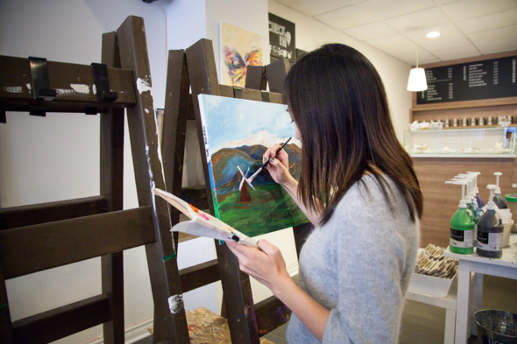 Paint lounge Toronto