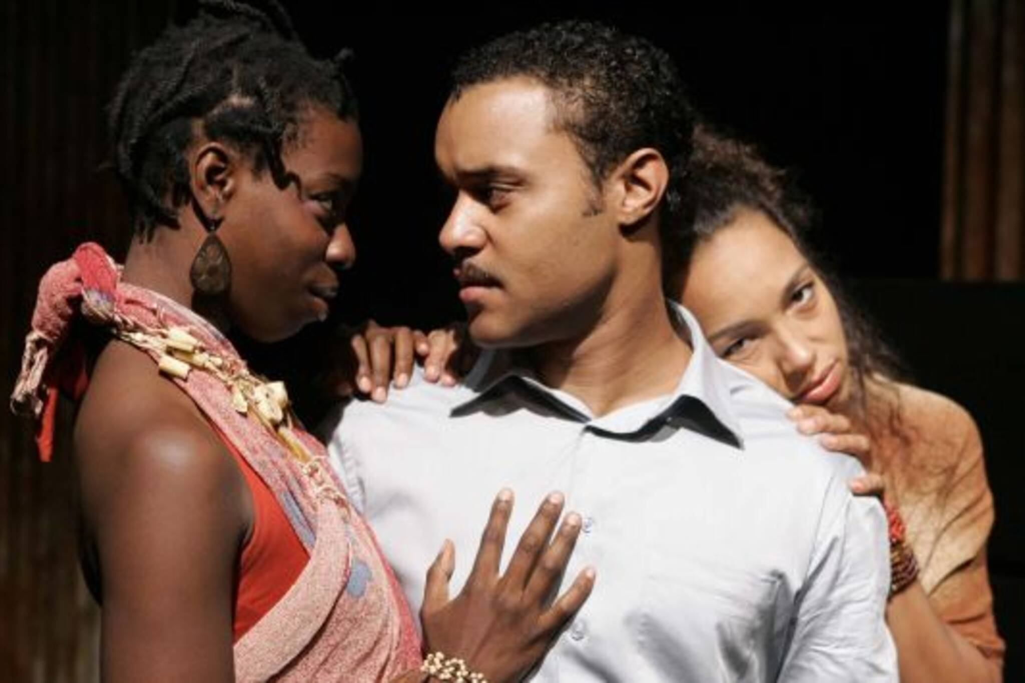 Tiffany Martin, Linday Owen Pierre, Mariah Inger in Black Medea