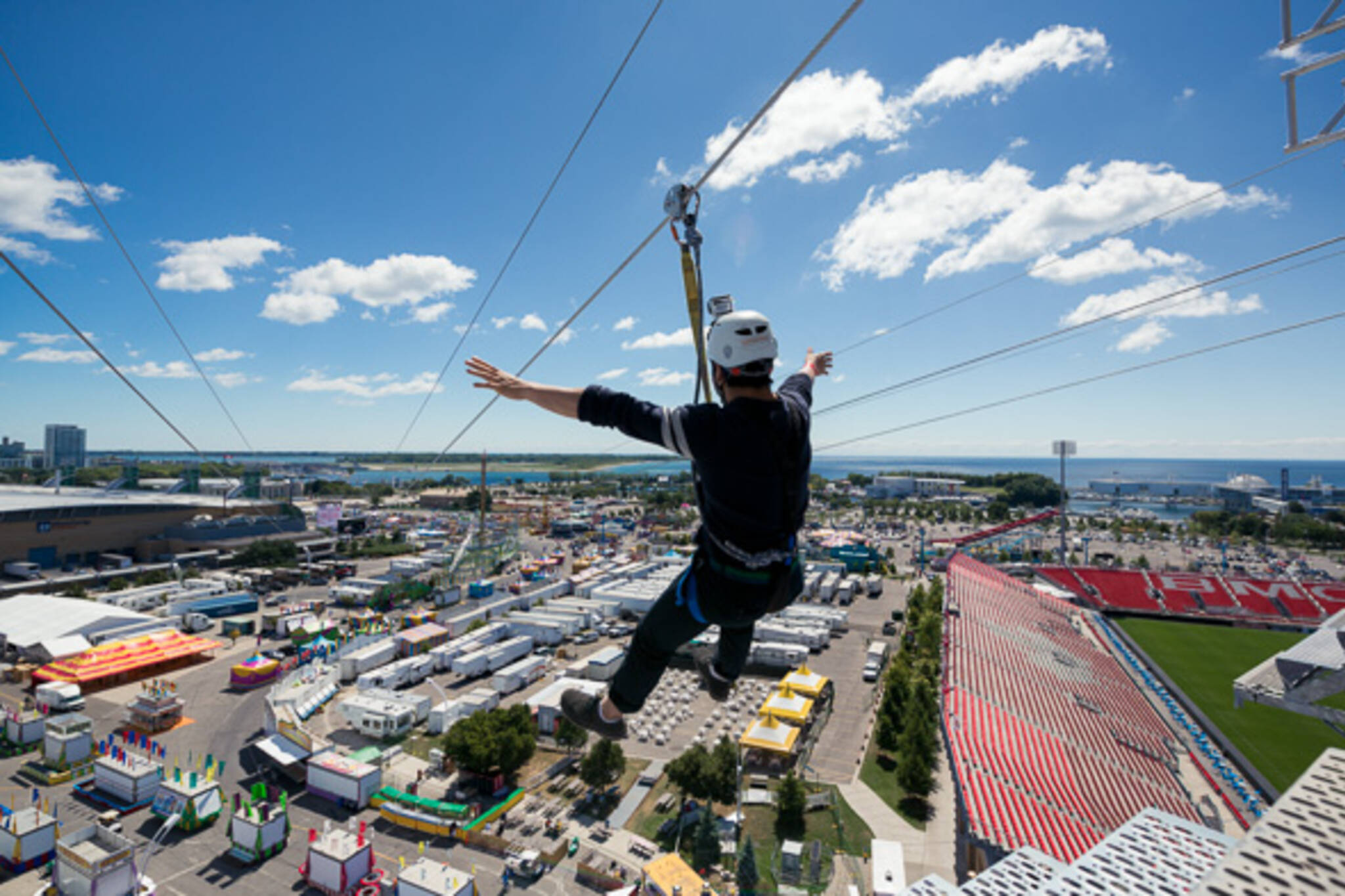 The CNE gets a 1000+ foot zip line for 2013