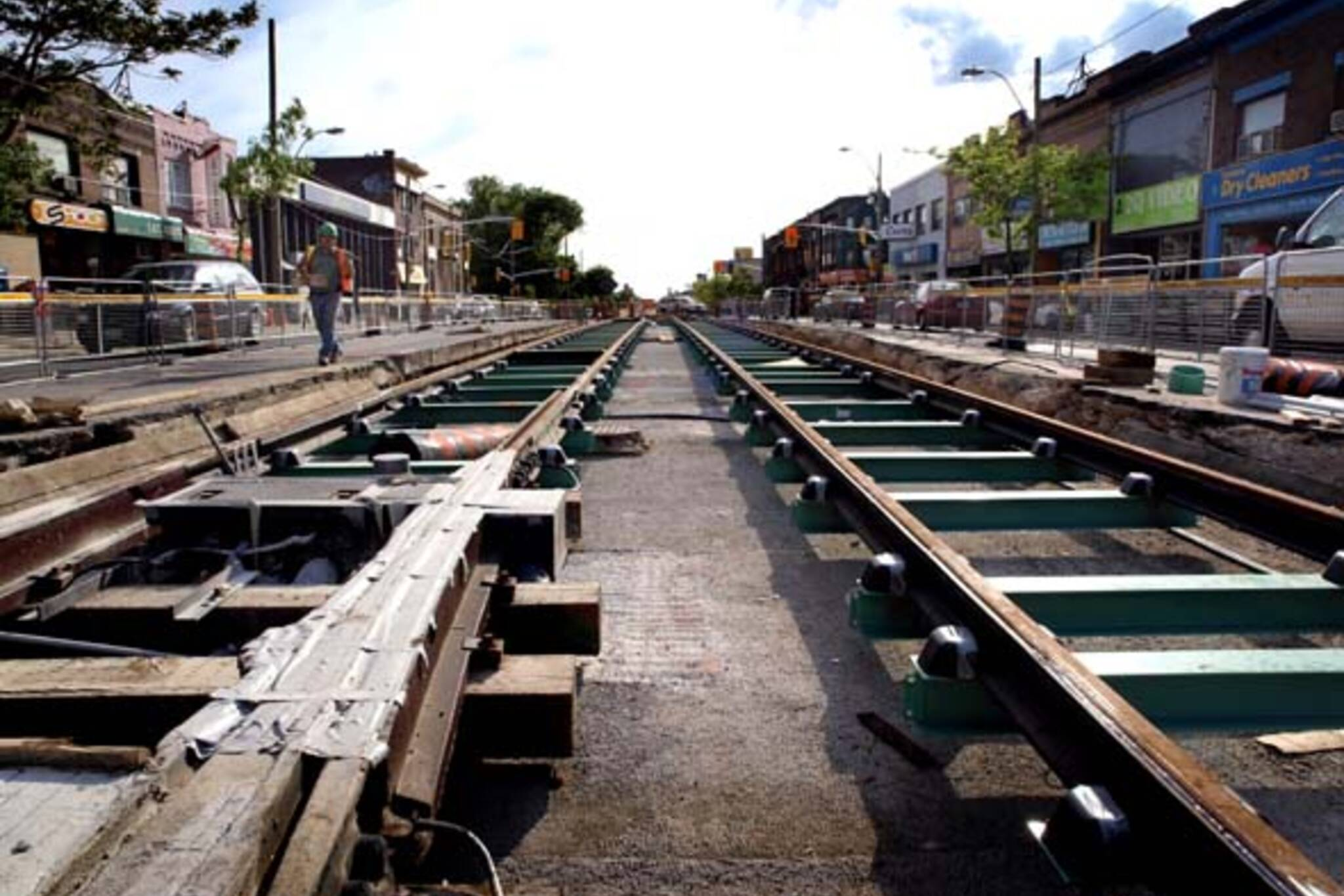 The St. Clair LRT