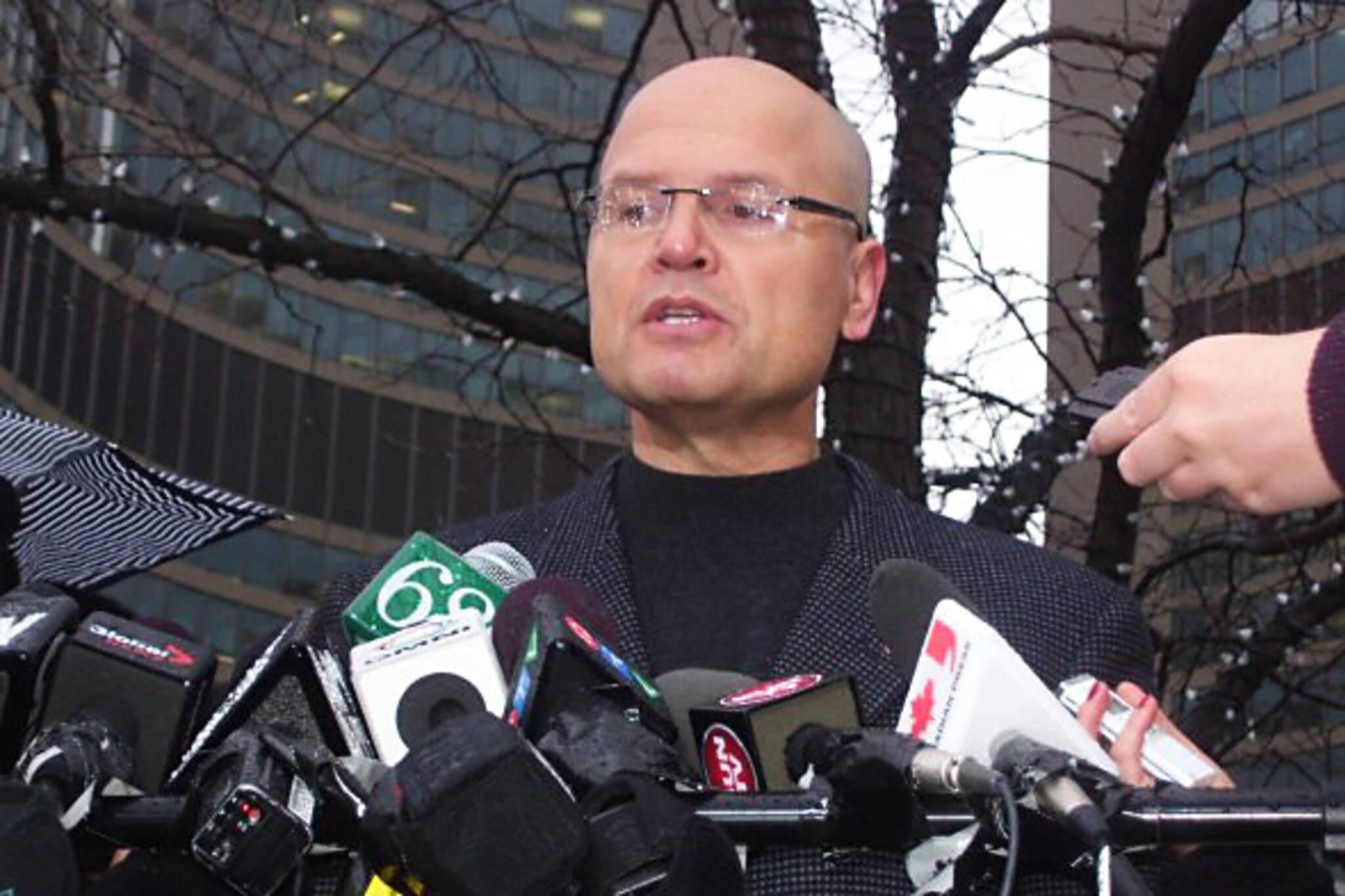 Rocco Rossi Toronto Mayor Candidate
