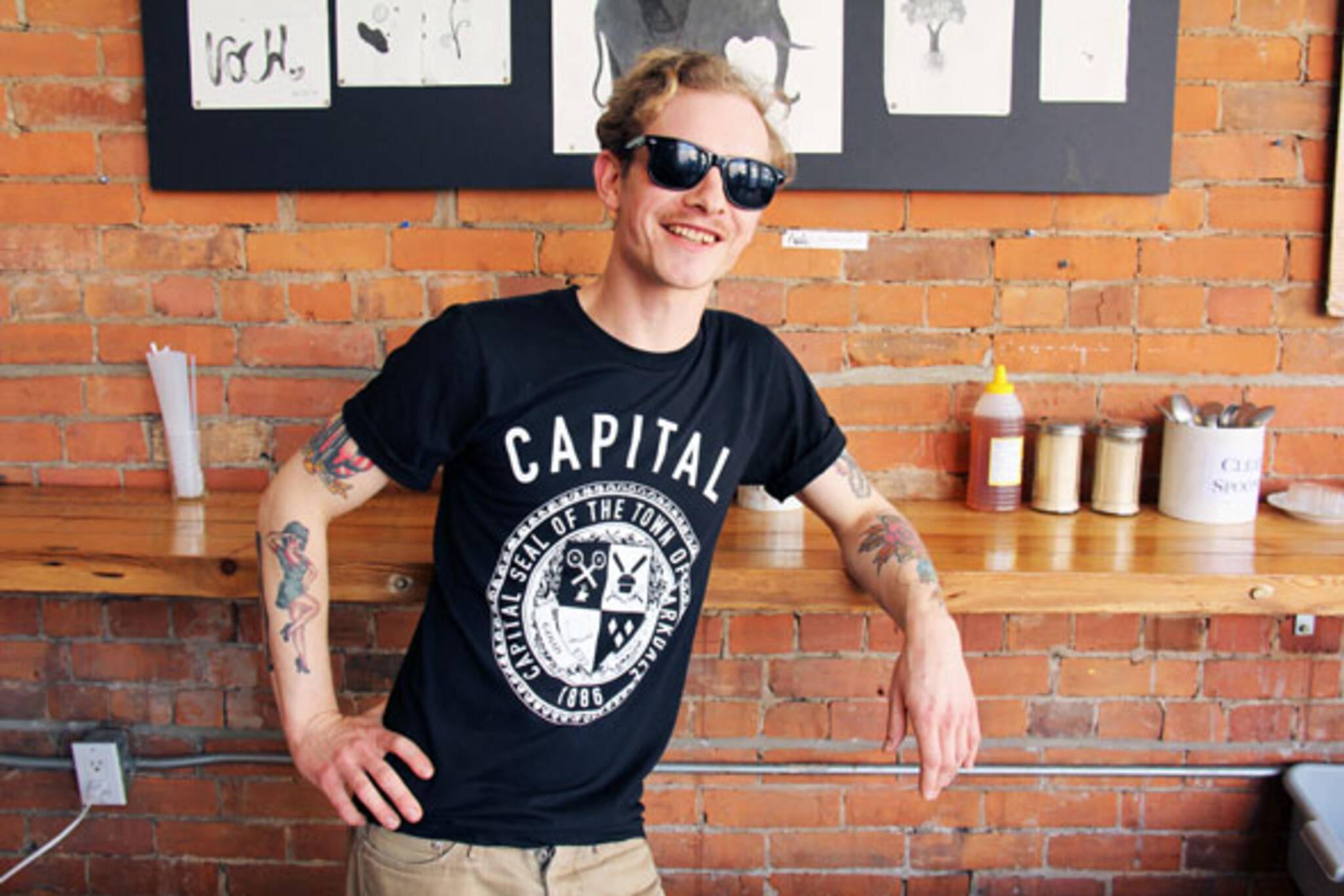 capital espresso t-shirt