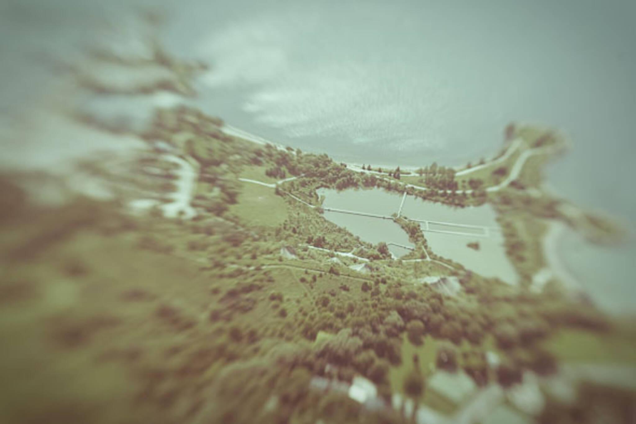 Scarborough Bluffs Aerial