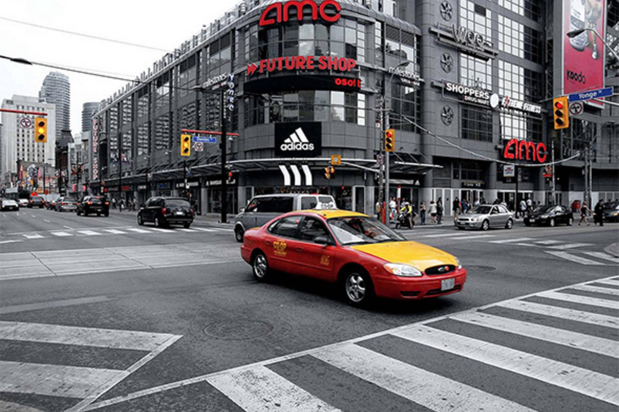 toronto taxis uber