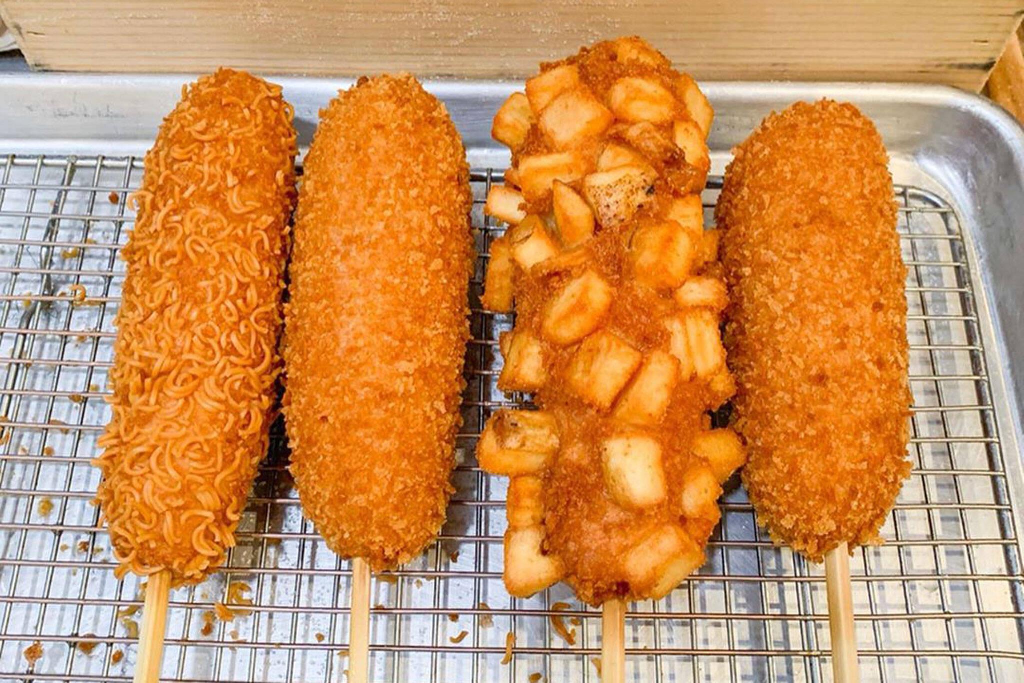 chung chun rice dogs