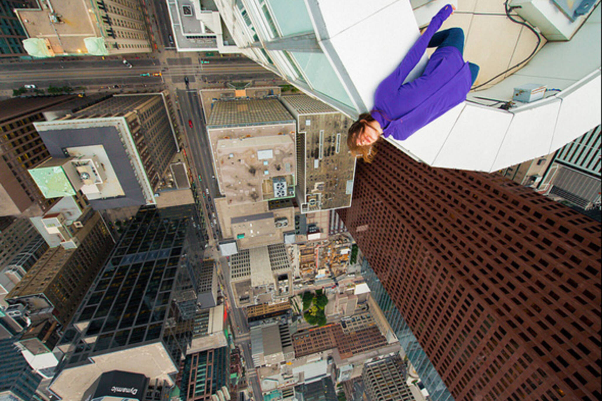 Upside down Toronto