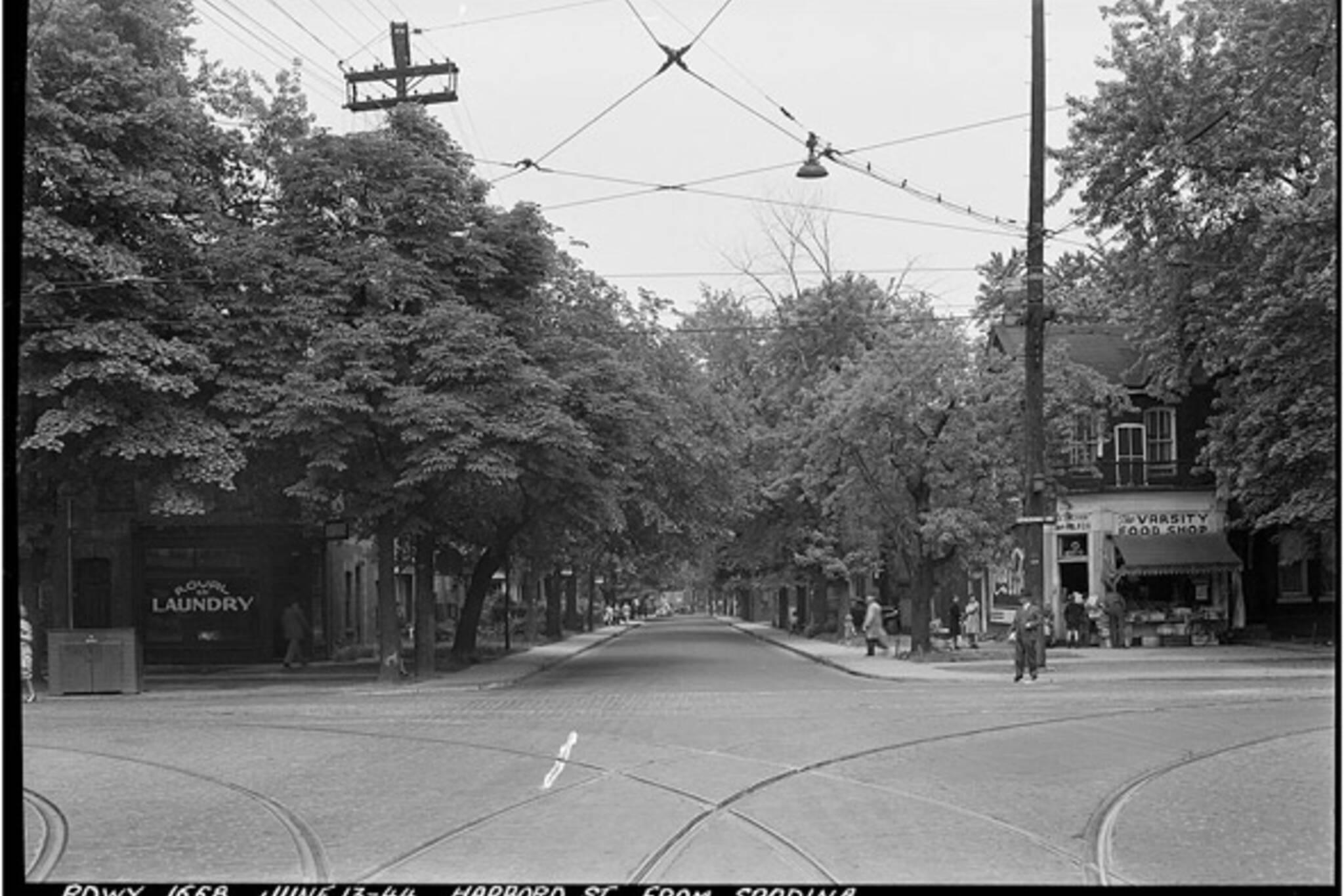 History Harbord Street Toronto