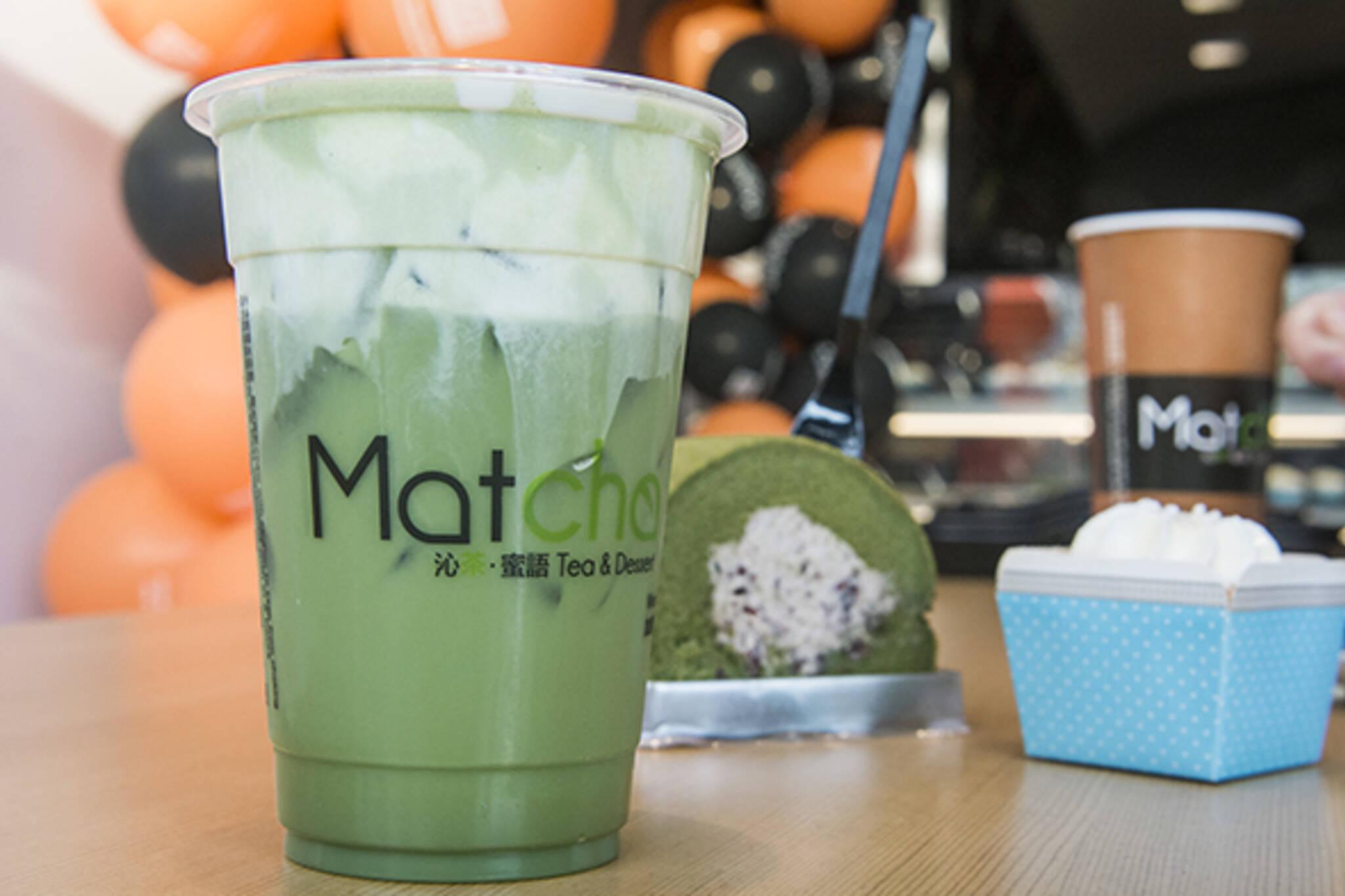 Matcha Tea Dessert Toronto