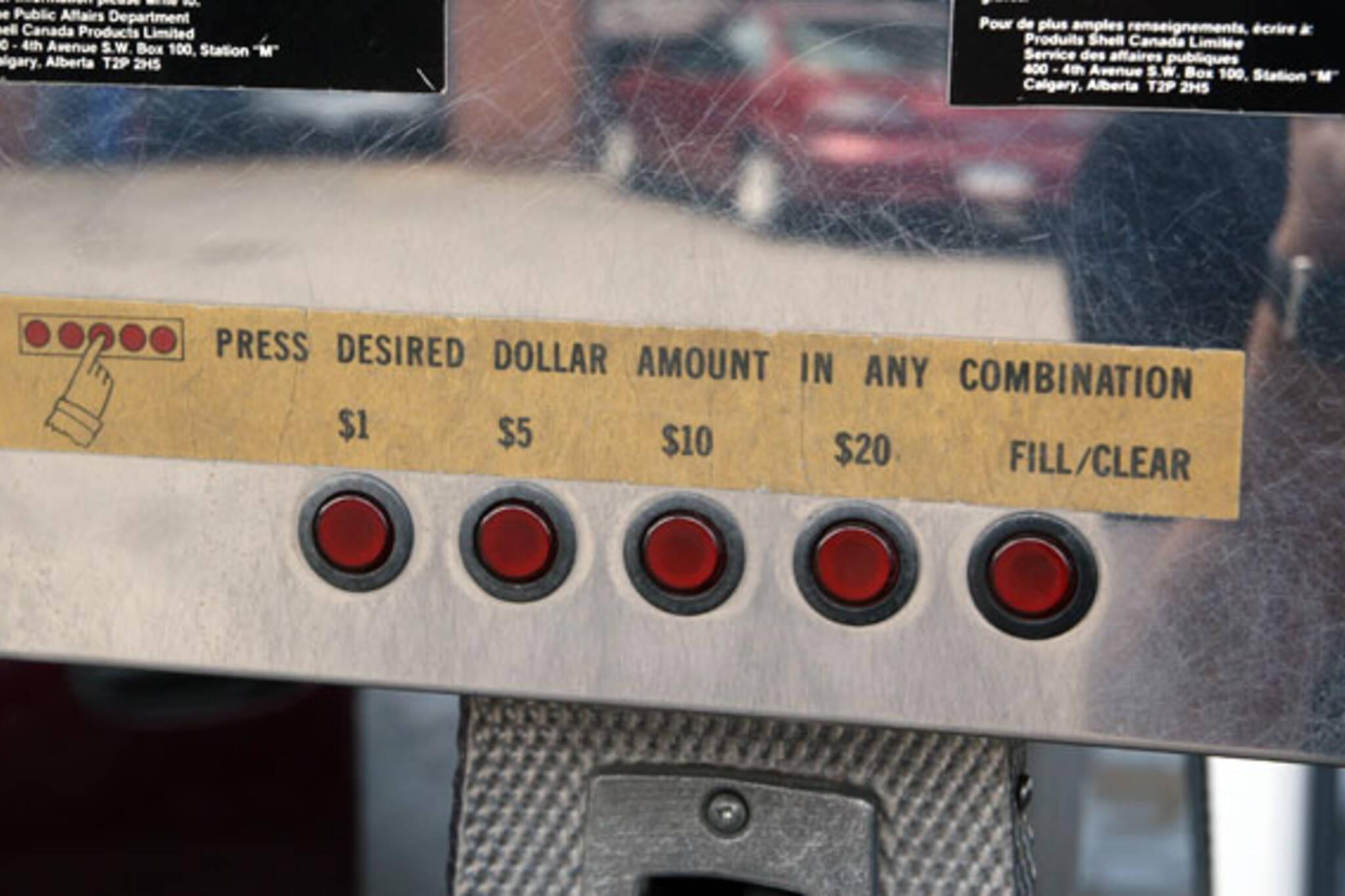 $1 gas