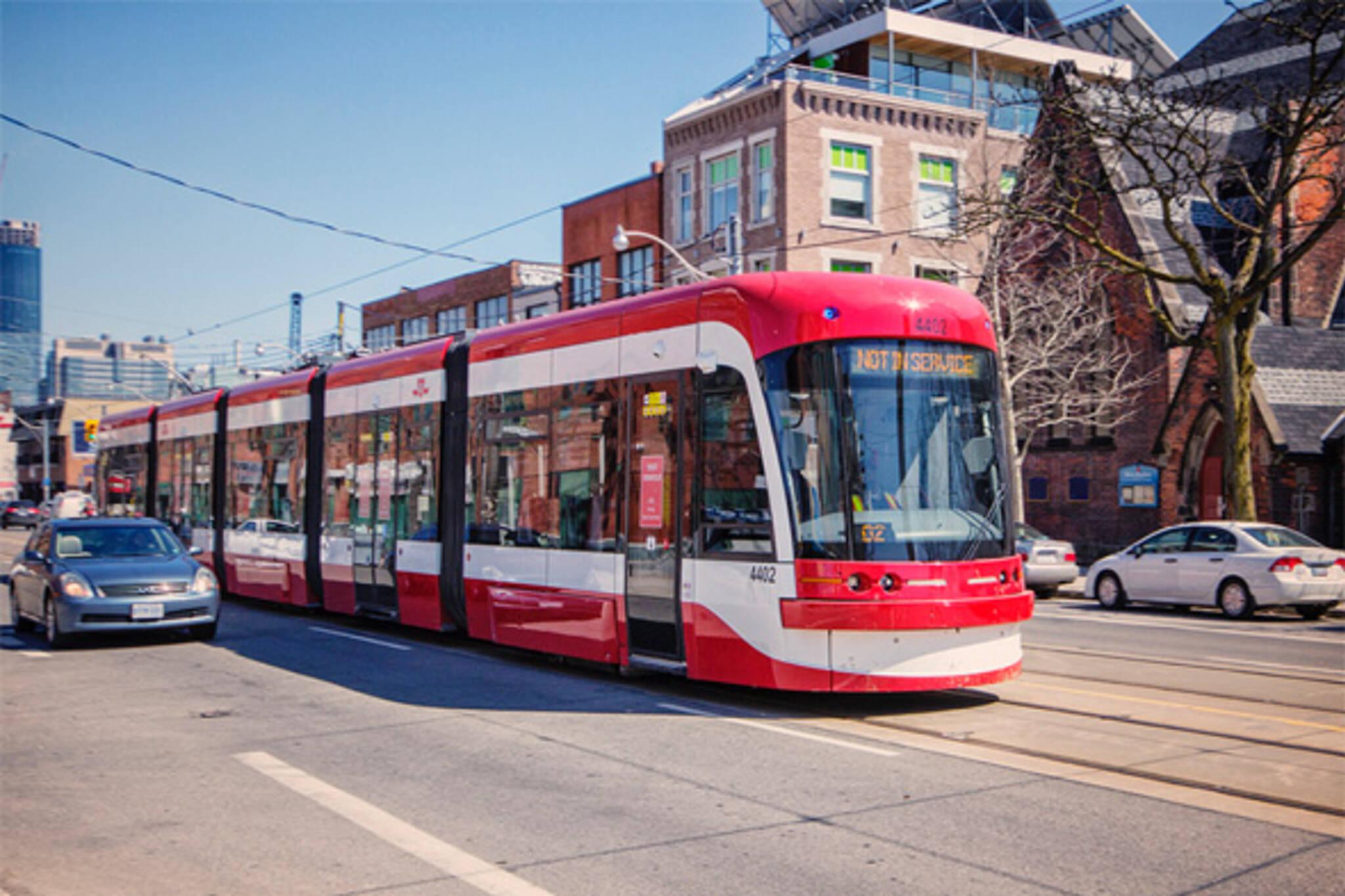 new ttc streetcars