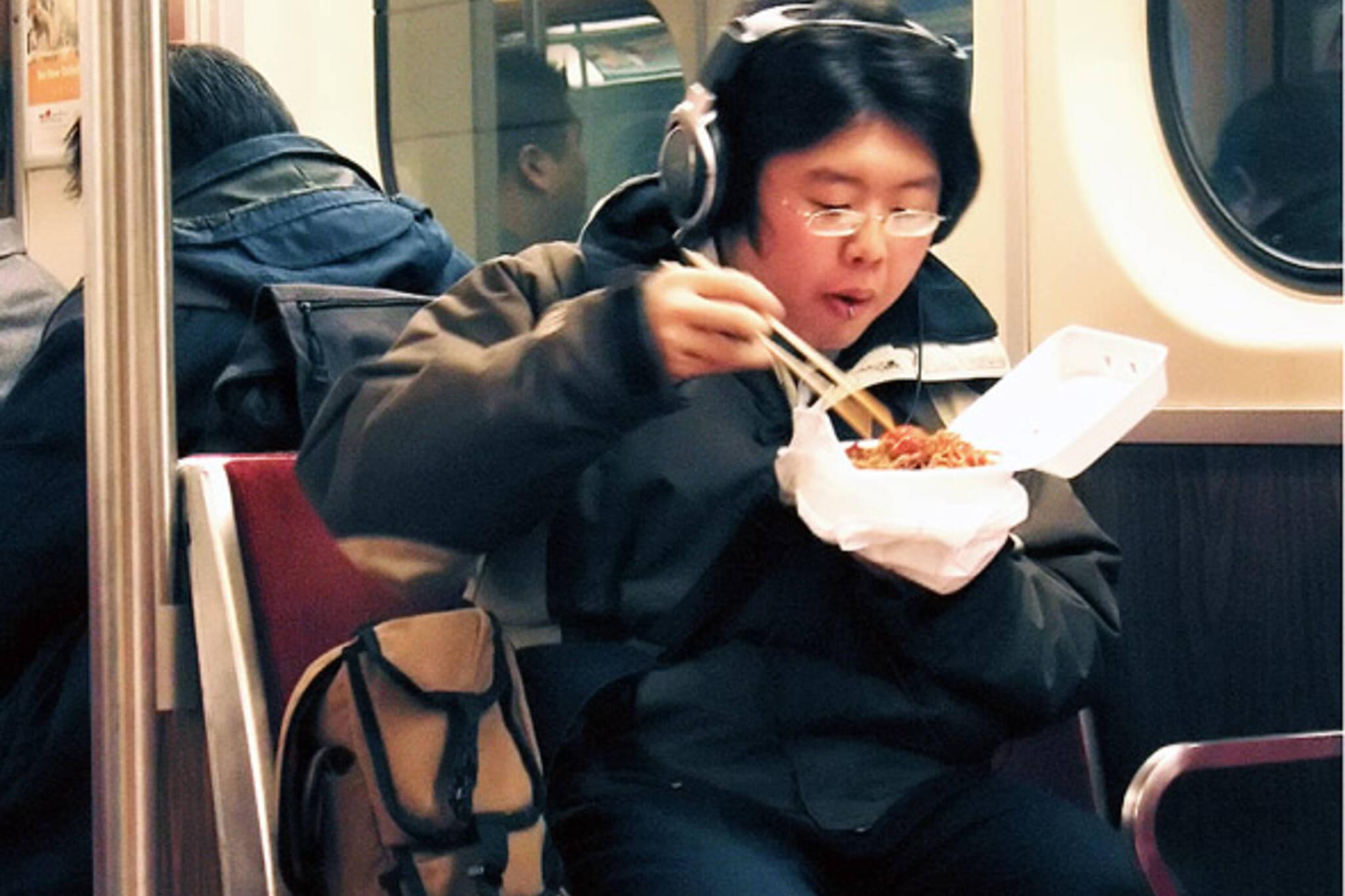 TTC ban food eating
