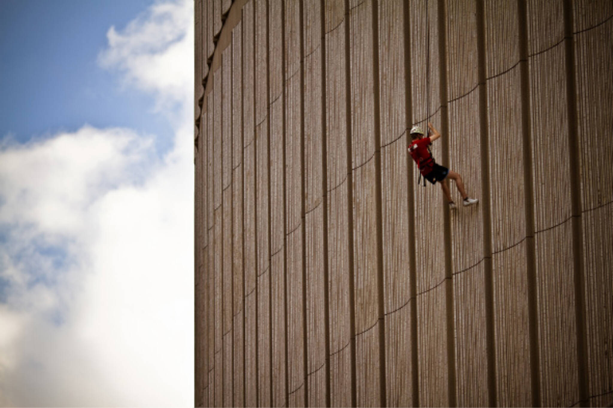 City Hall Climber